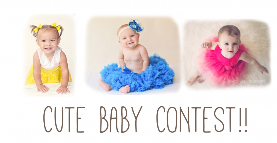 Cute baby contest win a session san diego baby photographer