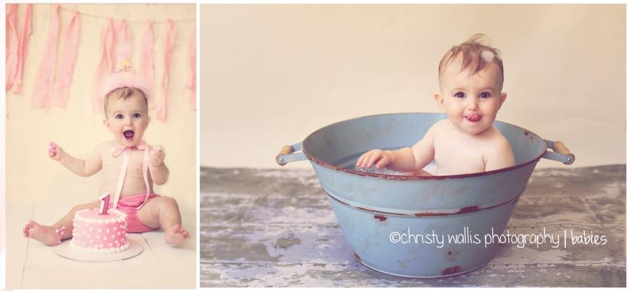 Kaitlyns Cake Smash San Diego Baby Photographer