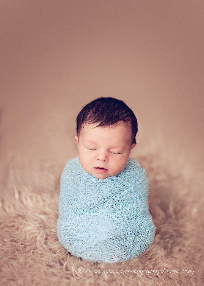8 Day Old Jackson San Diego Newborn Photographer