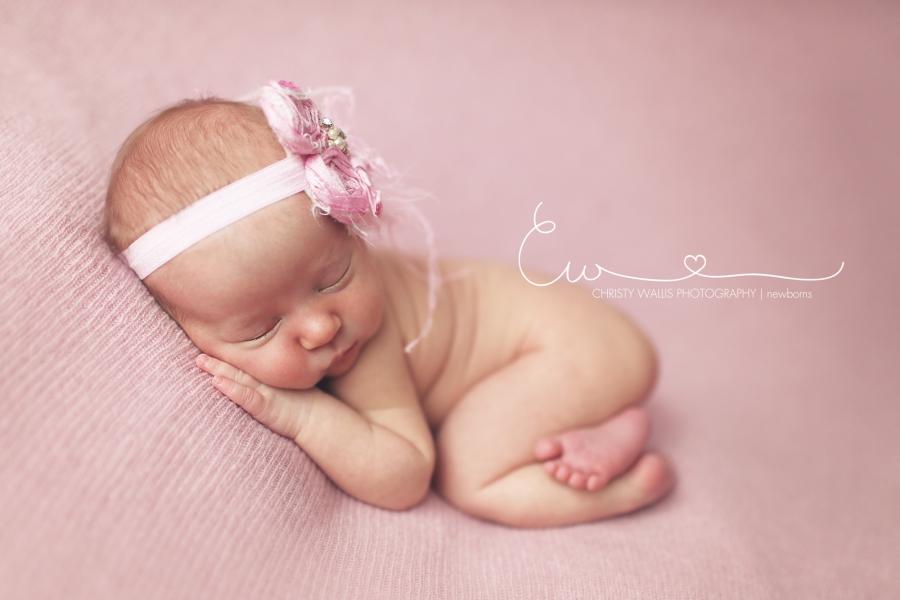 Baby Katherine Is 6 Days Old San Diego Newborn Photographer