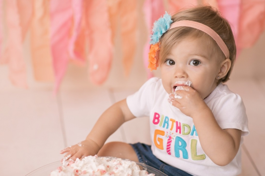 San diego cake smash photographer ·