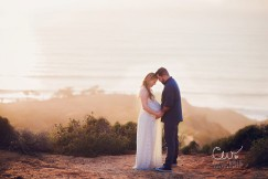 Gorgeous maternity photos in the Torrey Pines Nature preserve.